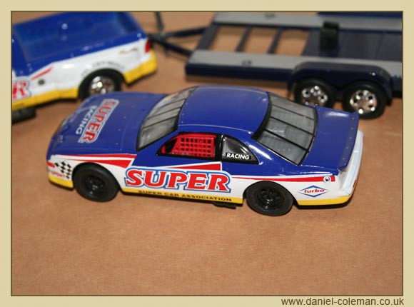 Stock Car And Truck (Real Toy)