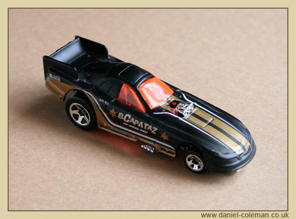 Funny Car - Black/Gold