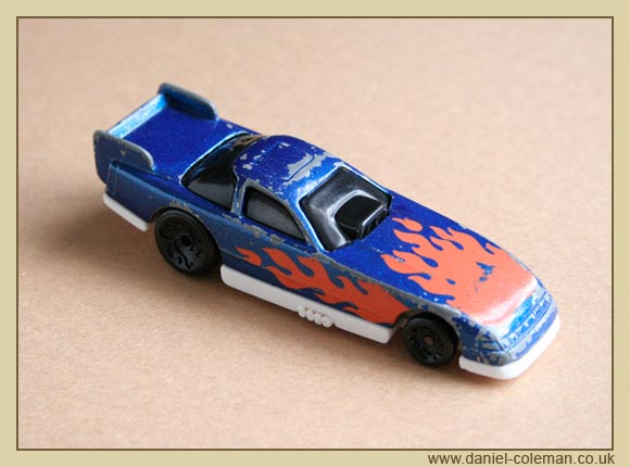 Funny Car - Blue/Orange