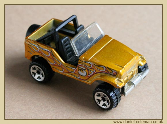 Gold Jeep