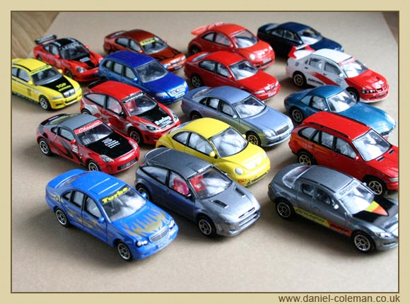 Collection of Realtoy cars