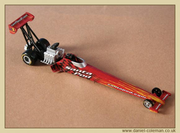 Top Fuel Dragster Santa Pod