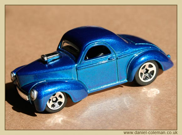 Custom 1941 Willys Coupe