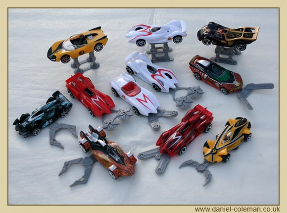 Speed Racer Cars & Weaponry