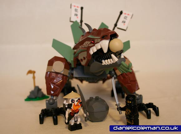 Ninjago Earth Dragon (2509) - Dec 2011