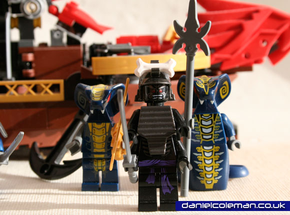 Ninjago Destiny's Bounty Lord Garmadon, General Scales & Slithran - April 2012