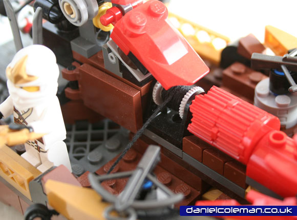 Ninjago Destiny's Bounty | Anchor Mechanism  - April 2012