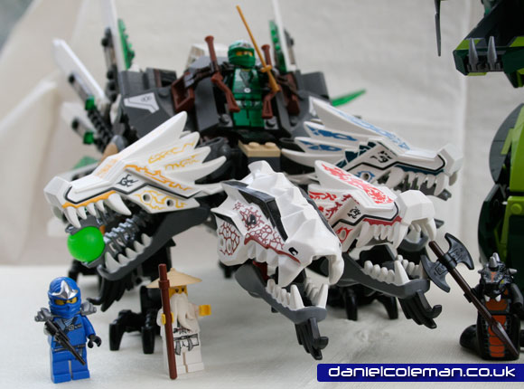 Ninjago Epic Dragon Battle | Ultra Dragon (9450) - Dec 2012