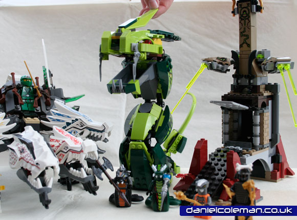 Ninjago Epic Dragon Battle (9450) - Dec 2012