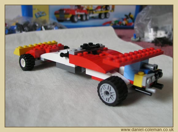Racing Car - Jun 2009
