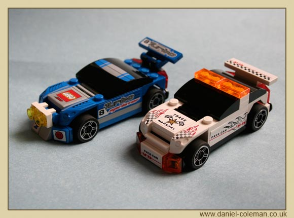 Lego Racers Truck (8120 & 8121)