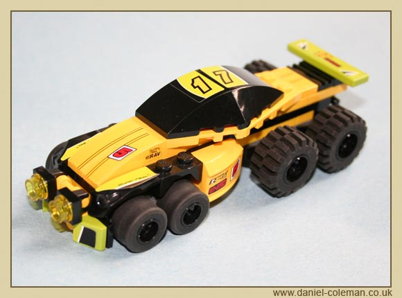 Lego Racers Truck (8119 & 8122)