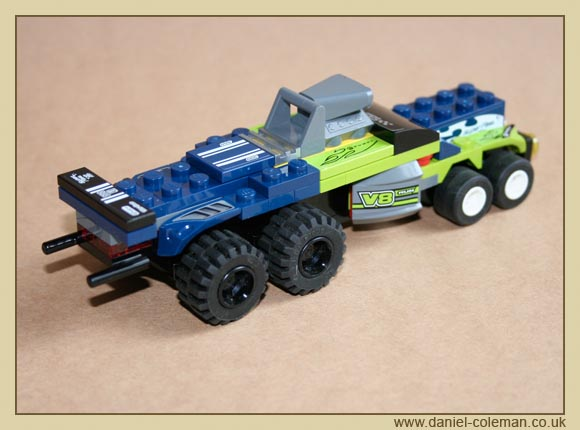 Lego Racers Truck (8194 & 8119)