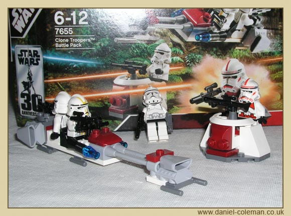 Clone Trooper Battle Pack (7655)