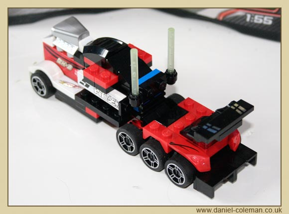 Lego Racers Truck (8150 & 8149)