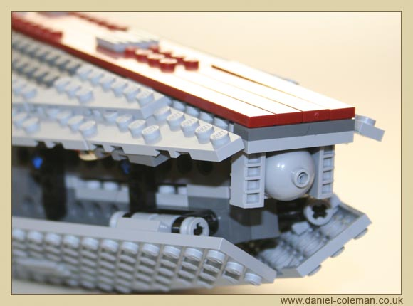 Venator Class Republic Attack Cruiser (8039) - Oct 2009