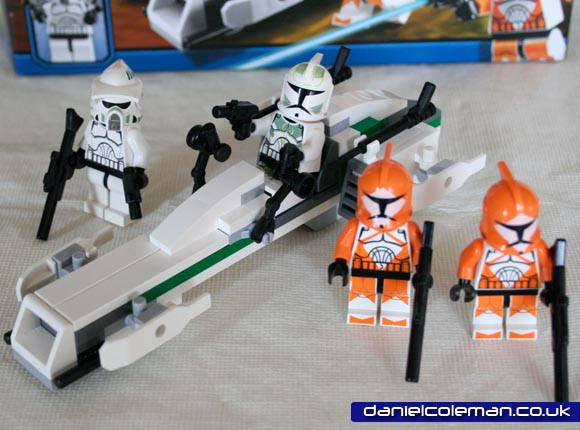Clone Trooper Battle Pack (7913) - Apr 2011