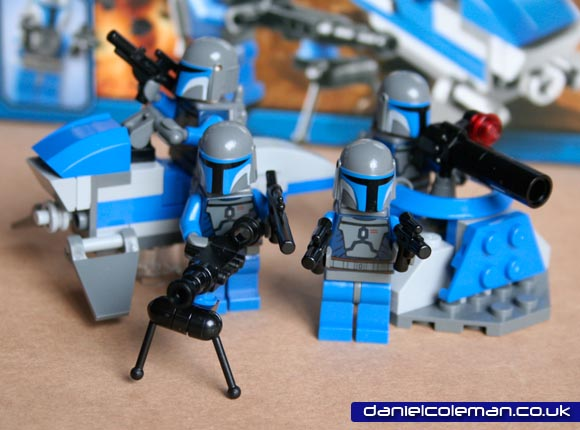 Mandalorian Battle Pack (7913) - Apr 2011