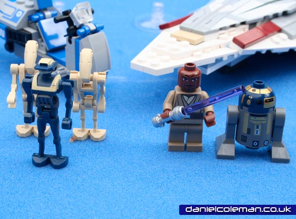 Battle Droids; TX20 Tactical Droid; Mace Windu; R8-B7 (7868) Jul 2011