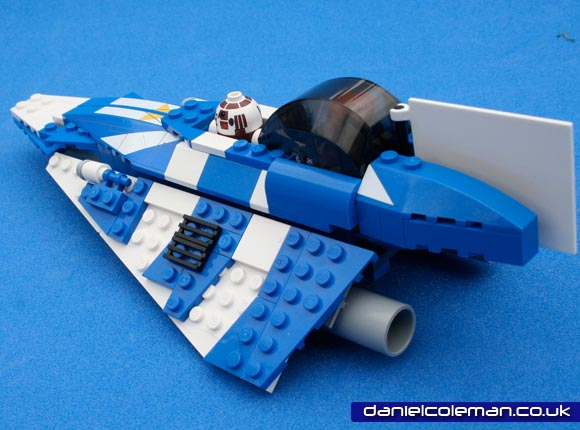 Plo Kloon's Jedi Starfighter (8093) Apr 2011