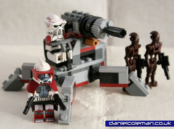 Elite Clone Trooper & Commando Droid  Battle Pack (9488) Dec 2012