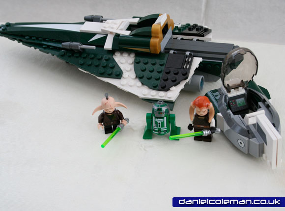 Saesee Tilin's Jedi Starfighter (94898) Jul 2012