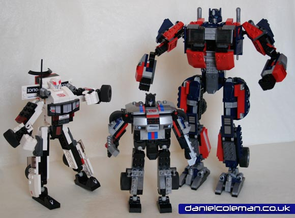 Kre-o - Prowl, Jazz, Optimus Prime