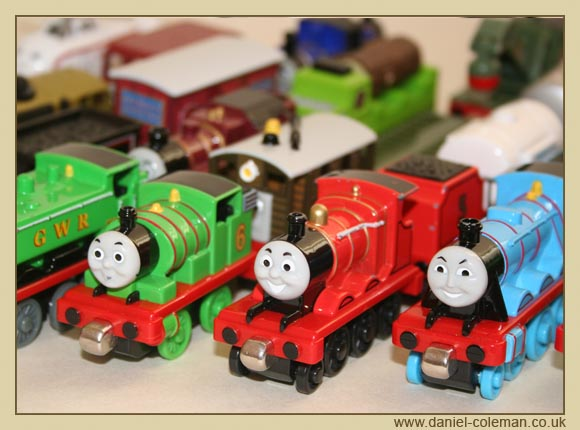Take-Along-Thomas - Engines and Rolling Stock