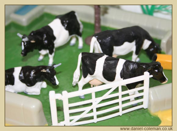 Freisian Cattle (Britains)