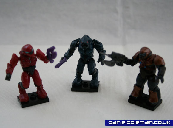 Covenant Elite Pilot (Red) | Covenant Elite (Blue) | Covenant Brute (Copper)