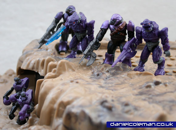 Covenant Ambush | 2x covenant elite 2x purple brutes 2x covenant grunt