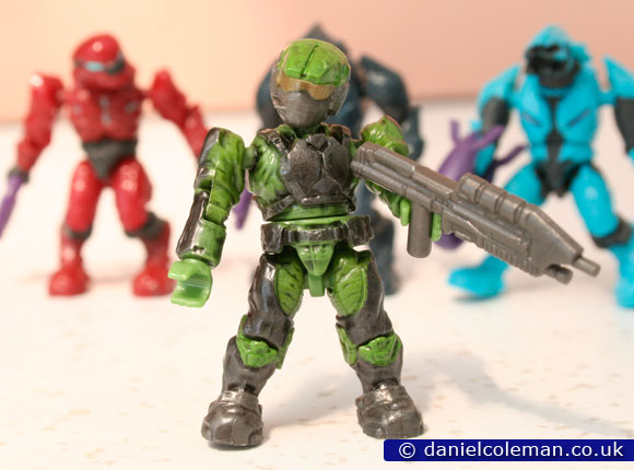 Halo Hero Pack | Green Marine