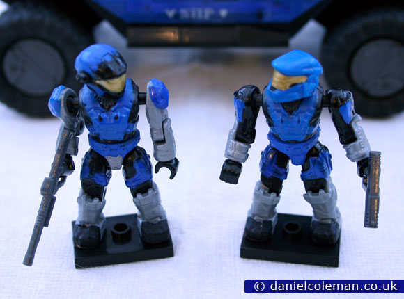 Blue Series Rockethog | Blue Sartan Air Assault & Blue Spartan Mark V