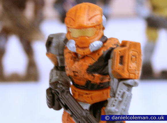 Halo | Series 8 | Orange Spartan Air Assualt