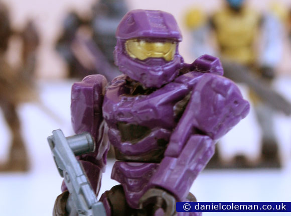 Halo | Series 8 | Purple Mark VI Spartan