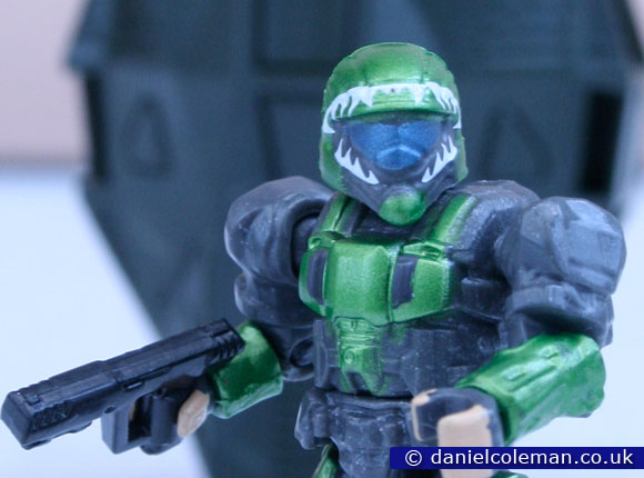 Halo | Metalic Series Drop Pods | Green ODST