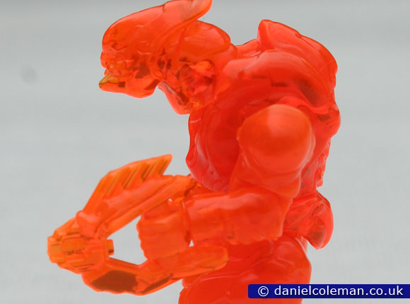 Halo | Series 7 | Translucent Orange Storm Elite