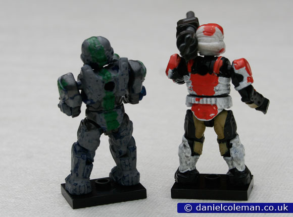 Custom Painted | Grey Green CIO & Red White Pilot