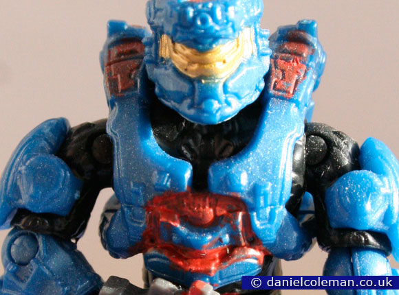 Custom Painted | Red Blue Enforcer