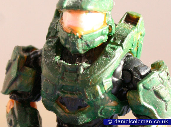 Custom Painted | Green MkVI Spartan