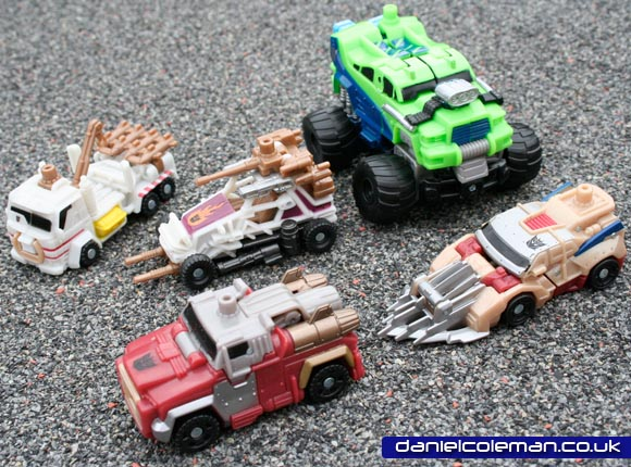Mud Slinger & Destructicons